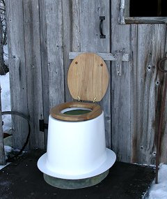 Outdoor Toilet Pedestal