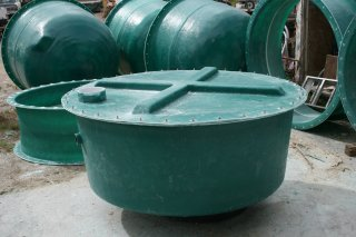 Custom Fiberglass Water and Septic Tanks